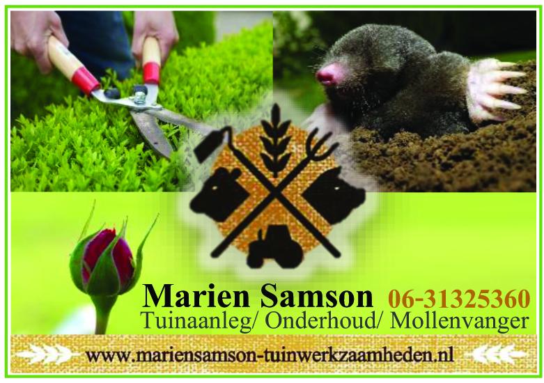 Marien Samsom advertentie 2018